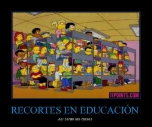 CR 615711 recortes en educacion