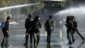 Las protestas fueron contra la reforma educativa de la Bachelet