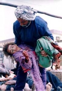 Niña herida_Bagdad