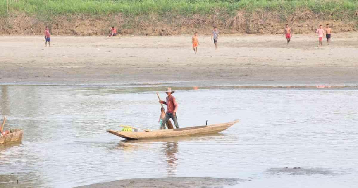 El cierre de las compuertas en el proyecto de Hidroituango generó una grave sequía en el río Cauca. Foto: archivo/Semana El cierre de las compuertas en el proyecto de Hidroituango generó una grave sequía en el río Cauca. Foto: archivo/Semana